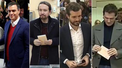 España vuelve a las urnas sin que los partidos difuminen sus líneas rojas para alcanzar acuerdos
