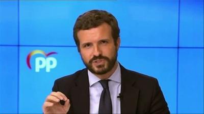Casado acusa a Sánchez de 'alentar a la prevaricación' a Ayuso por 'obligarle a dictar' una orden para cerrar Madrid