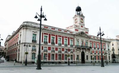 Sede del Gobierno Regional de Madrid, en la Puerta del Sol (imagen de referencia))