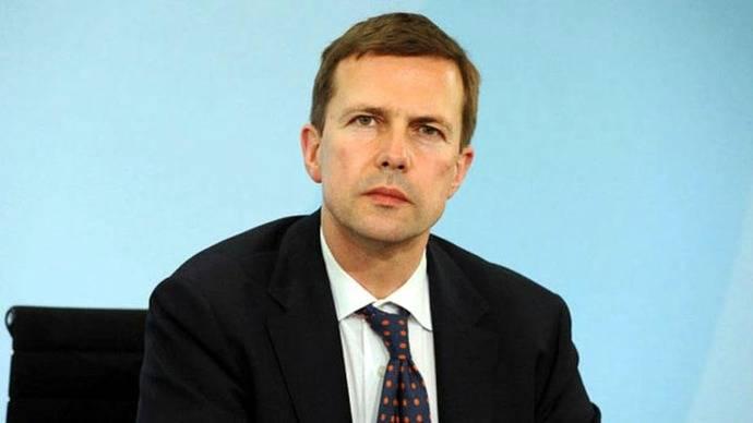 Steffen Seibert, portavoz de la canciller alemana Angela Merkel