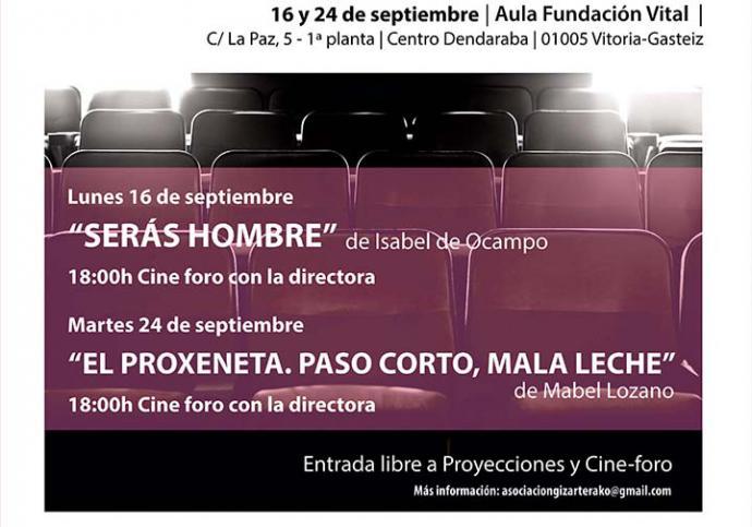 Ciclo de cine documental en Vitoria para dar visibilidad al problema de la Trata de personas