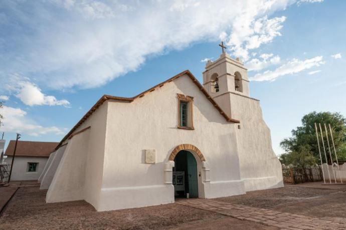 Iglesia en San Pedro de Atacama