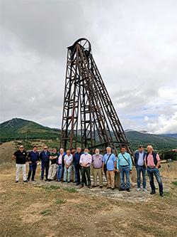 La mina de carbón de Barruelo de Santullán es visitable desde 1999