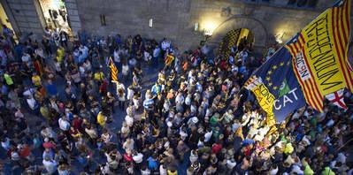 Operación policial aumenta clima de crispación en Cataluña
