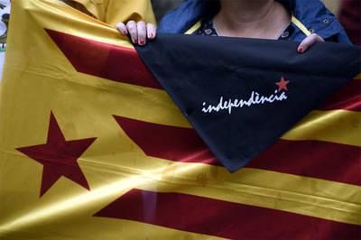 Los catalanes insisten hacer referéndum separatista