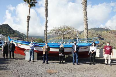 "Santa Cruz de Tenerife recupera como símbolo de San Andrés el barco ""El Corbeta"""