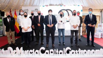 Presentada la estrategia 'Región de Murcia, Capital Española de la Gastronomía 2021'