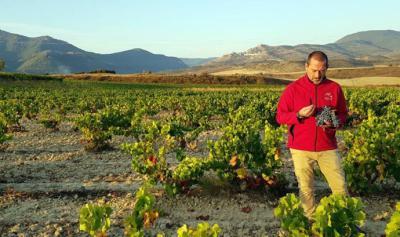 Juan Glaría, enólogo de la bodega navarra perteneciente a Bodegas Masaveu