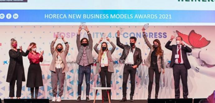 Ganadores de los Horeca New Business Models Awards 2021