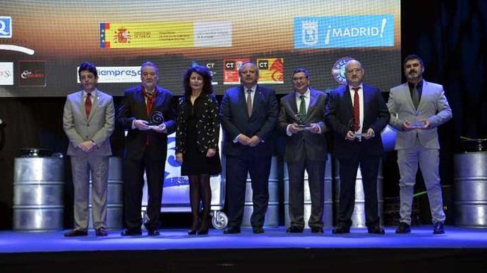 Alberto Núñez Feijóo, Antonio Carmona y la Capital Española de la Gastronomía, Premios Q 2018