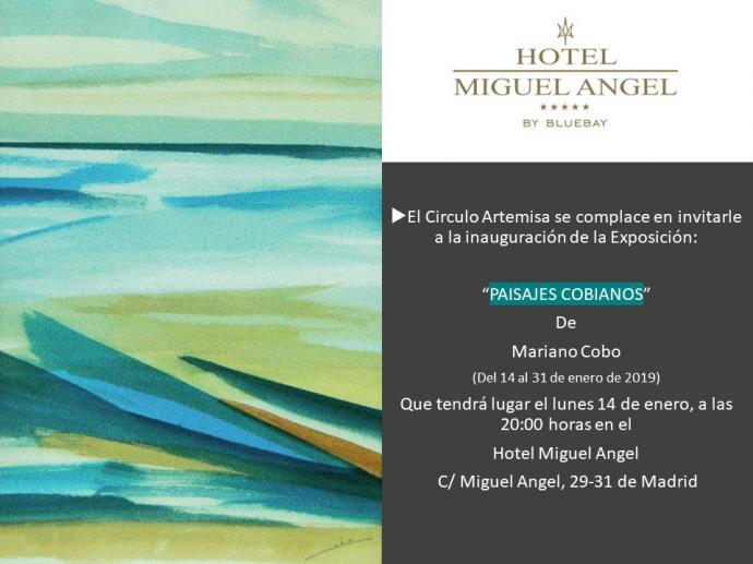 Mariano Cobo/Galería Arte Hotel Miguel Angel