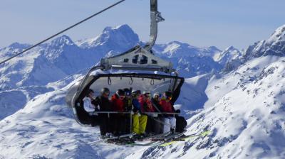 LECH, la gran estación de esquí de Austria