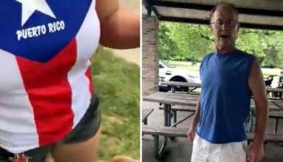 Una mujer latina agredida en un parque de Estados Unidos por usar una camiseta con la bandera de Puerto Rico.