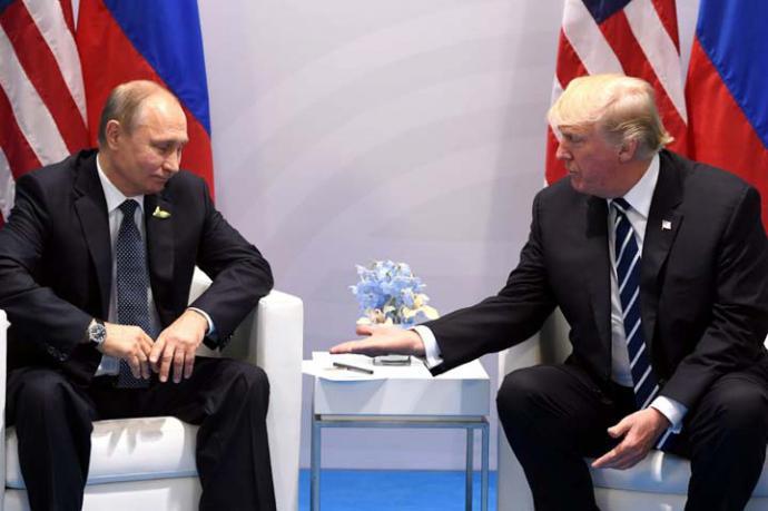 Putin y Trump en una imagen de arcjivo