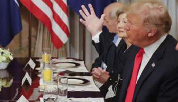 Trump pide a sus aliados de la OTAN destinar 4% de su PBI al gasto militar