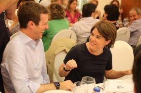 Casado y Santamaría pugnan por el electorado más ultra del PP mientras el partido reclama una lista única