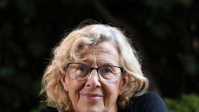 Manuela Carmena, exalcaldesa de Madrid.MARTA JARA