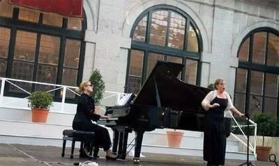 Virginia Wagner, Alina Artemyeva y el Quinteto Die Forelle