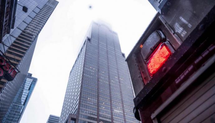 Un muerto en brutal aterrizaje de helicóptero en Manhattan