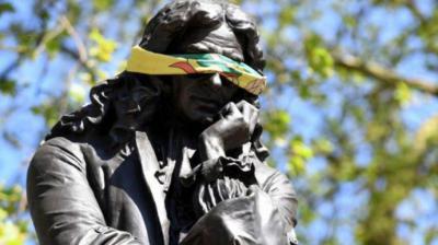 Edward Colston, el esclavista británico cuya estatua fue derribada durante las protestas contra el racismo en Reino Unido