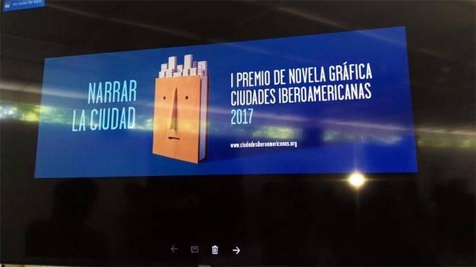 """I Premio de Novela Gráfica-Ciudades Iberoamericanas: """"Narra tu ciudad"""""""