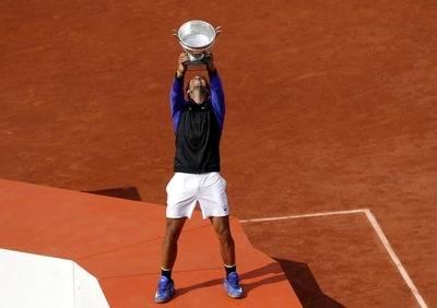 Nadal logra su décimo Roland Garros