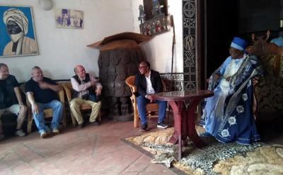 Recepcion del rey Bamoun