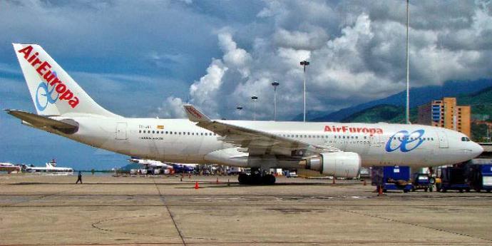 Tiroteada tripulación de Air Europa en Caracas