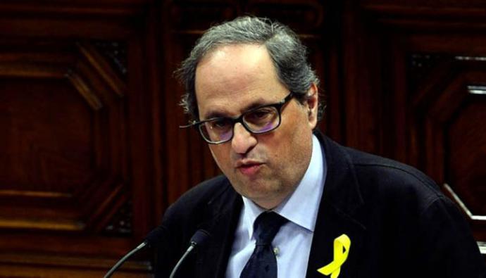 Joaquim Torra Pla, conocido como Quim Torra fue designado por Carles Puigdemont para sucederle en la presidencia de Cataluña.