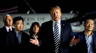 Trump se reunirá con Kim Jong-un en Singapur el 12 de junio