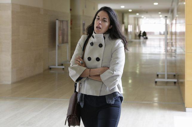 Cecilia Rosado, en la URJC