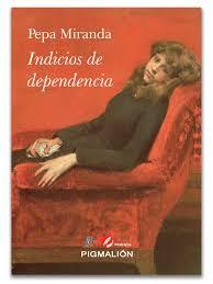 """Pepa Miranda, poeta autora del libro """"Indicios de dependencia"""""""