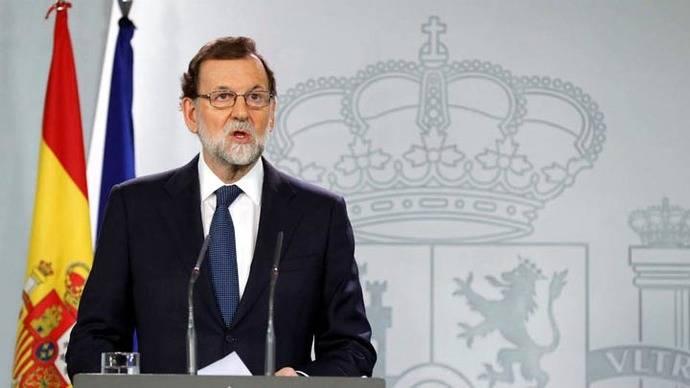 Rajoy inicia proceso para asumir competencias del Ejecutivo catalán