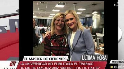Amalia Calonge y Cristina CifuentesI Y