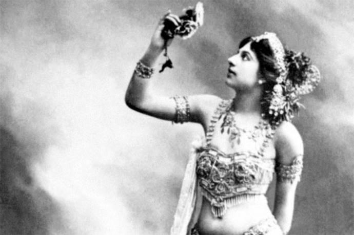 Foto sin fecha de la bailarina Mata Hari, ejecutada por su condición de doble espía