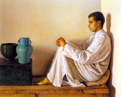 Claudio Bravo, cotizado pintor hiperrealista, chileno generoso con el Museo del Prado y museo de pintura interrumpido por la muerte