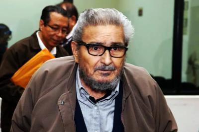 """Abimael Guzman lider y fundador de """"Sendero Luminoso"""""""