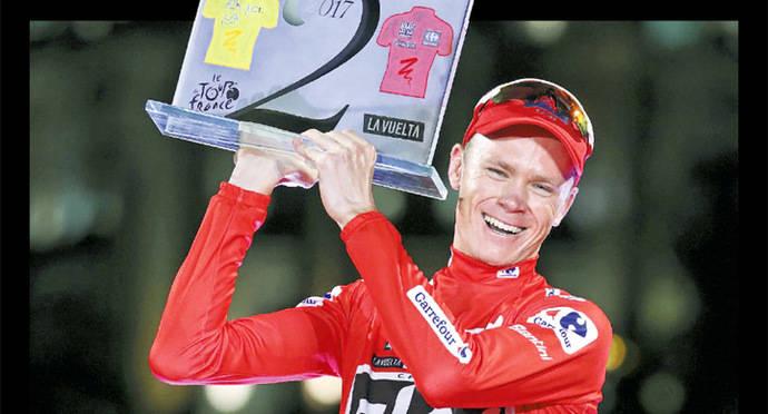 Chris Froome ganó el Tour y la Vuelta en el mismo año, como lo hicieron Anquetil e Hinault.