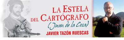 """Javier Tazón, autor del libro """"La Estela del Cartógrafo"""", sobre Juan de la Cosa"""