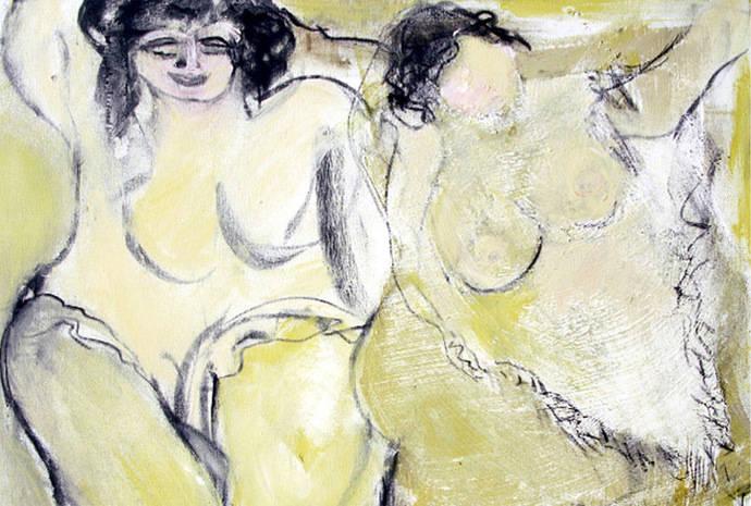 Teresa Ahedo, pintura de búsqueda y de mujeres generosas