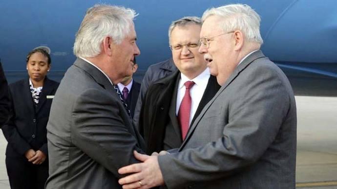 Rusia amenaza con represalias contra EEUU ante visita de Tillerson