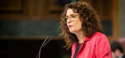 Mª Jesús Montero, ministro de Hacienda en funciones