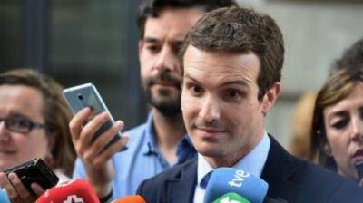 Casado pide a Sánchez que le llame para hablar de Catalunya tras acusarle de ser 'responsable' del golpe de Estado