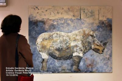 Gardenia Mayo: Exposición de pintura y esculturas en Núñez de Balboa, 30, de Madrid