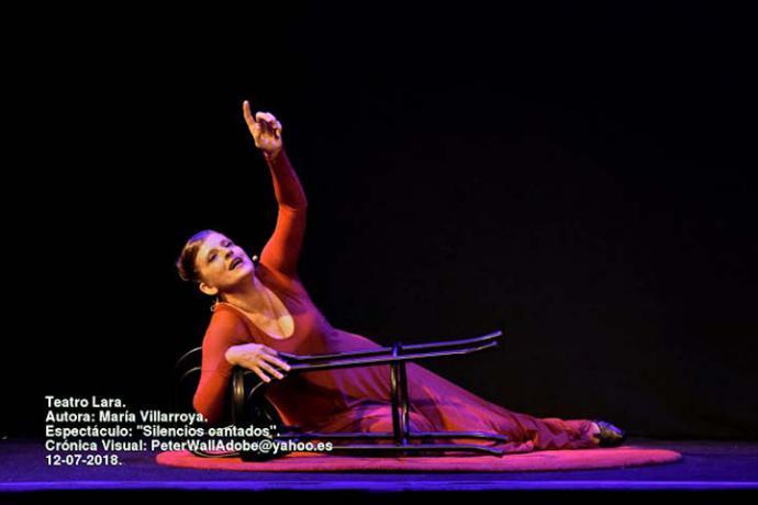 María Villarroya: Apoteosis final en el Teatro Lara de Madrid
