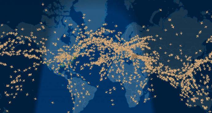 Rastreando aviones: ¿como funcionan los rastreadores de vuelo?