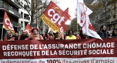 """Francia: sindicatos mantienen huelga y advierten de que no habrá """"tregua de Navidad"""""""