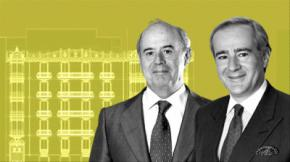 Santiago Aguirre (izda.) y Allen Sanginés-Krause.DAVID VELASCO