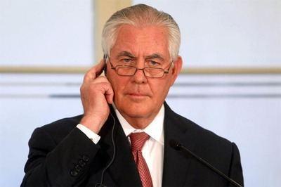 El secretario de Estado estadounidense, Rex Tillerson