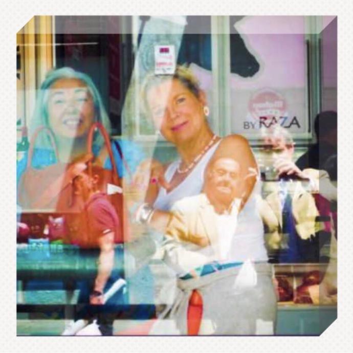 Isabelle Hirschi, fotógrafa francesa, encuentro en Madrid con el pintor Alfonso Sebastián